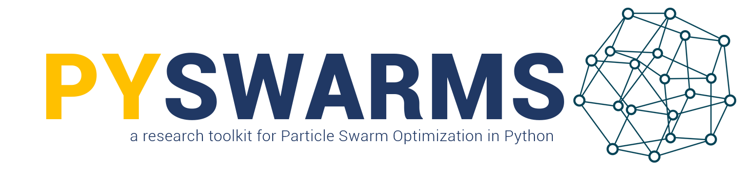PySwarms: a particle swarm optimization library in Python